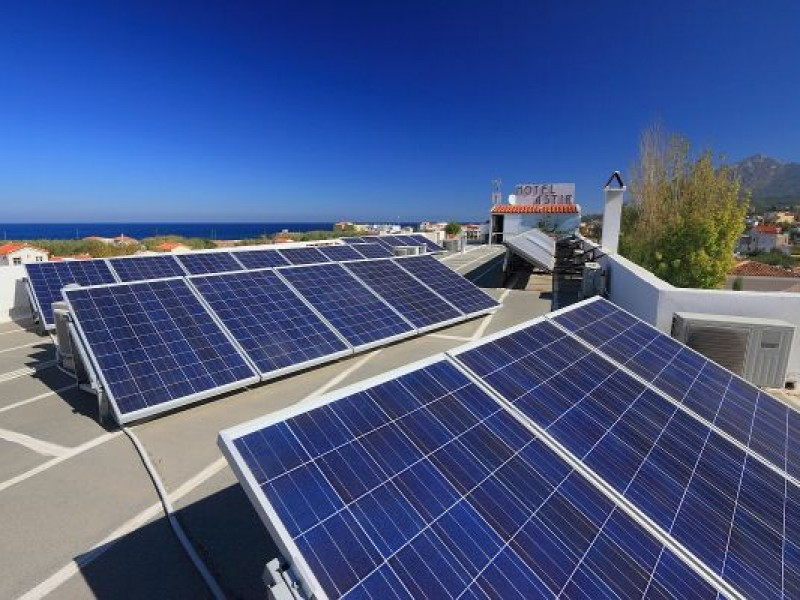 Cross linked power system 5kW of Astir Hotel at Karlovasi Samos